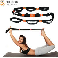"71"" x 1.8""  Arm Resistance Stretch Band Rope Fitness Exercise Pilates Yoga Gym"