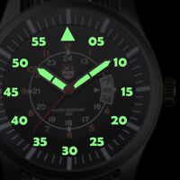 Herren UHR Nylon Armband Armbanduhr Militär Nylon Quarzuhr Wasserdicht Watch