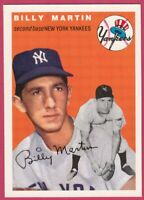 1954 Topps Archives #13 Billy Martin - New York Yankees