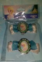 Disney Parks FROZEN ELSA Cameo Accessory Clips! Hair or Shoe Clip Princess New