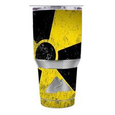 Skin Decal for Ozark Trail 30 oz Tumbler Cup (6-piece kit) / Bio Hazard zombie