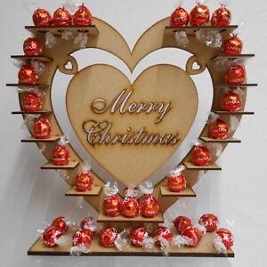 Merry Christmas Chocolate Display Stand