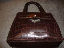 Small Genuine Liz Claiborne Handbag Textured Finish w/ Silver Accents (6x8)  329
