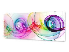 Glasbild Wandbild Glx12581326317 abstrakt Wirbel 125 X 50cm