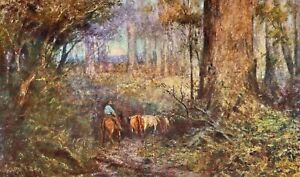 1916 1st THE ART OF FREDERICK McCUBBIN, Edition of 1000 SIGNED, FREE EXPRESS W/W