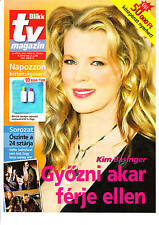 KIM BASINGER  , KIEFER SUTHERLAND     3  Hungarian magazines   2007 , 2002,1997