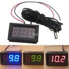 Useful 12V Vehicle Digital Thermometer Car LED Temperature Meter Probe -50~110°C