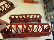 Lionel 270 Bridge, red, no track  1932 to 1940