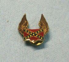 Biker Pin Wings  Flag