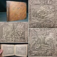 1563 Mythology Tetrasticha in Ovidii Metam 132 Woodcuts Dragons Witches Serpents