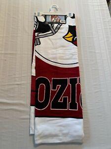 "Arizona Cardinals NFL 30"" x 60"" Beach Towel McArthur Brand New"