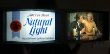 """Vintage Anheuser Busch Brewery """"Natural Light"""" Bar 1977 Lighted Beer Sign"""