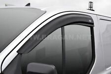 Per adattarsi 2013+ FORD TRANSIT TOURNEO CUSTOM SIDE Window vento pioggia deflettori Van