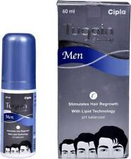 2 X CIPLA TUGAIN HAIR REGROWTH SOLUTION FOR MEN(60 ML) -NEW LAUNCH FREE SHIPPING
