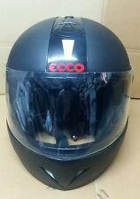 Format Ecco Full Face Light Weight Helmet - Black Matt ISI marked