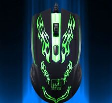 Colorful 1600 DPI 4Button LED Optical USB Wired Gaming Mouse Mice Gamer PC