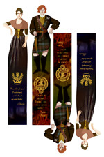 "JamieClaire Fraser (""Outlander"" by D.Gabaldon) bookmarks, PDF, A4 download"