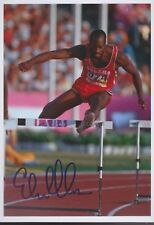 EDWIN MOSES Olympia 13x18 signiert IN PERSON Autogramm signed RAR