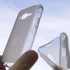 Custodia silicone trasparente opaca cover case per Samsung Galaxy Ace NXT G313