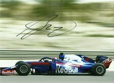 Daniil Dani Kvyat 2019 Grand Prix signed photo F1 Toro Rosso STR 14 driver