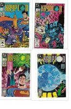 DC COMICS  The World Of Krypton  # 1-4  SET MINI SERIES 1987/88  75C USA