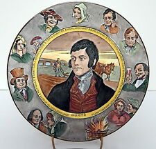 Royal Doulton Robert Burns Plate #2 D6344 Darker Colors