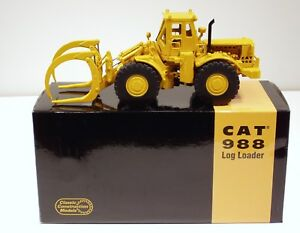 Caterpillar 988 Log Loader - 1/48 - CCM - Diecast - Brand New