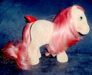 Rose: My Little Pony Vintage So Soft SS Cherries Jubilee EXCELLENT G1