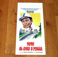 TOTò AL GIRO D'ITALIA locandina poster affiche Mattoli Ciclismo Bicycle i5