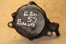 BMW 5 Series Brake Vacuum Pump E60 520D  Manual Brake Vacuum 2007