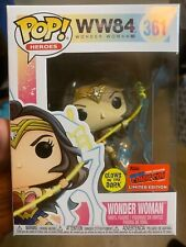 Funko Pop Wonder Woman #361 Gitdny Comic Con 2020 Exclusive Convention Sticker