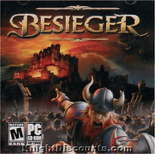 BESIEGER Strategy Besieger Viking PC Game Sealed JC NEW - US Version!