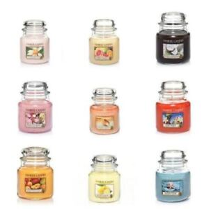 HANDMADE YANKEE CANDLE SCENTED JAR CANDLE 411g Medium various Scents