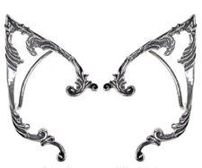 Arboreus Elf Ears Ornate Fantasy Earwraps Earrings Pair Alchemy Gothic E390p