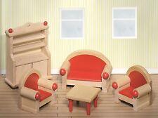 Goki Wohnzimmer für Puppenstuben & -häuser