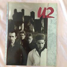 U2 Rare Vintage 1984-1985 The Unforgettable Fire Usa Tour Program Tour Book