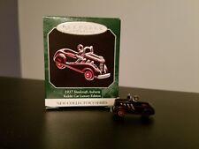New Hallmark Mini Ornament 1937 Steelcraft Auburn Kiddie Car #1 in Series 1998