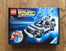 LEGO 21103 Back To The Future Delorian Brand New Sealed