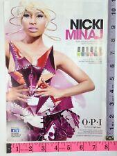 Ad - Magazine Clipping - Nicki Minaj