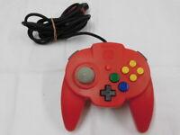 Y2913 Nintendo 64 Hori Pad mini controller Red Japan N64