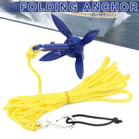 Folding Anchor Fishing Accessories for Kayak Canoe Boat Marine Sailboat AU