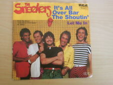 The sneekers 7 Inch single it 's All Over bar the shoutin' (1982) ° 3b