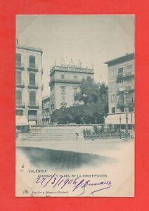 España - Valencia - Audiencia Y Plaza de La Constitucion (K4279)