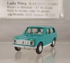 adp Modelle Lada Niva WAS-2121 türkis 1:87 H0 11606