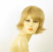 perruque femme 100% cheveux naturel courte blonde ref EMILIE 22