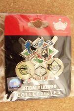 2008 Florida Marlins vs Tampa Bay Rays Interleague lapel pin