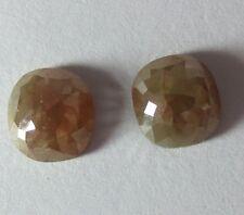 3.53 CARATS FANCY SHAPE ROSE CUT POLISHED DIAMONDS PAIR