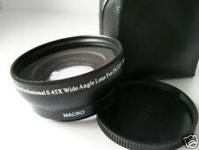 BK 58mm 0.45X Wide-Angle Lens FOR Fuji Fujifilm FinePix HS30EXR HS33EXR Camera