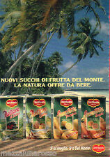 Pubblicità Advertising 1989 DEL MONTE Succhi e Nettare