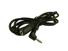 5' 3.5mm Male Right Angle Plug to 3.5mm Female Jack 1.5 meter Stereo Audio cable